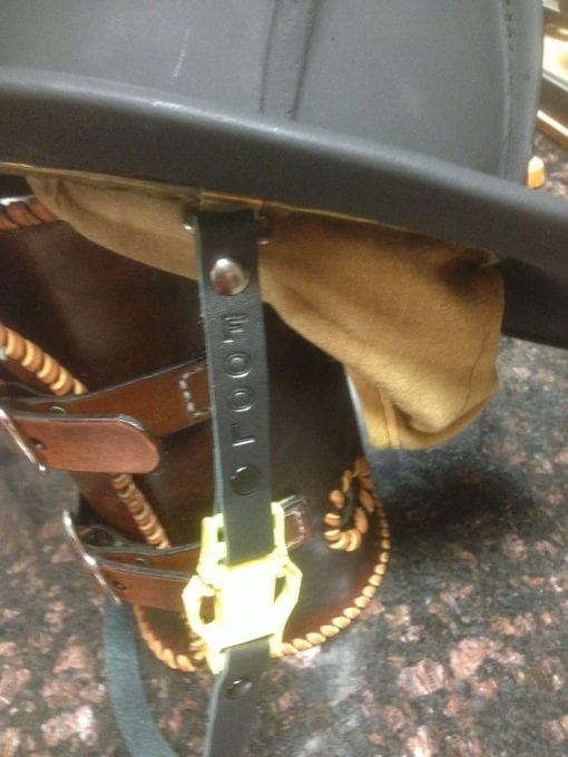Chin Strap Black (On Helmet, Side)