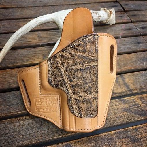 Handmade Leather OWB Pancake Holster