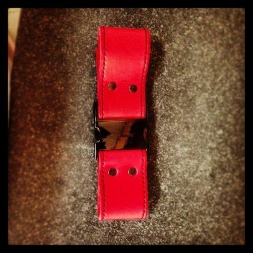 Red Box Strap Light