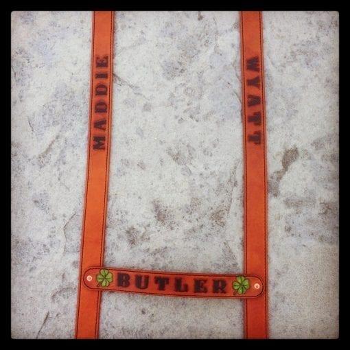 Tan Suspenders (Lying Flat)