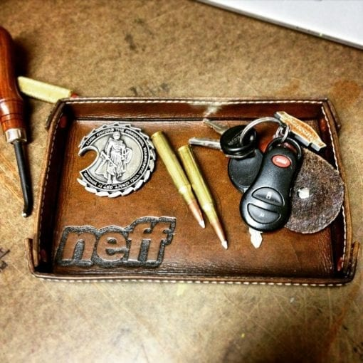 Valet Tray with Keys and Other Items