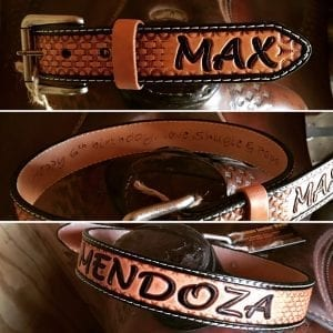 Custom Handmade Leather Belts