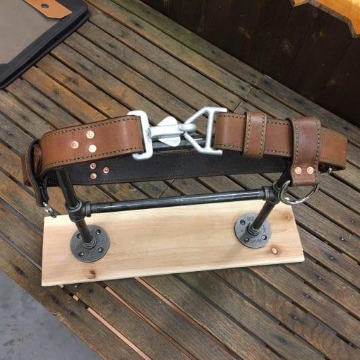 Handmade Leather Firefighter Truck Belts