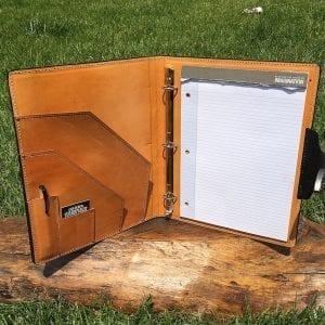 Handmade Leather Padfolio Legal Pad