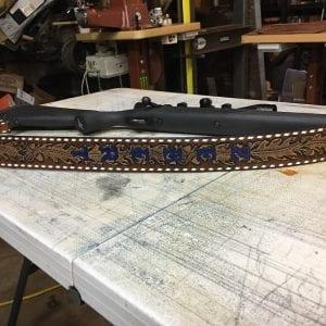 Handmade Leather Rifle Sling