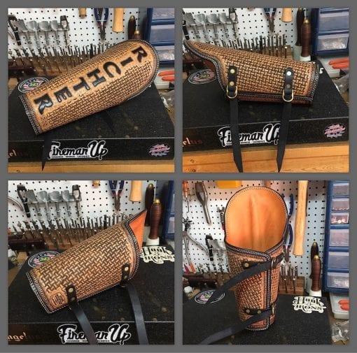 Handmade Leather Welder Armpad