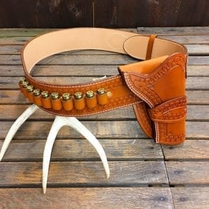 Handmade Leather Western Gun Rig