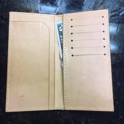 Handmade Long Leather Wallet